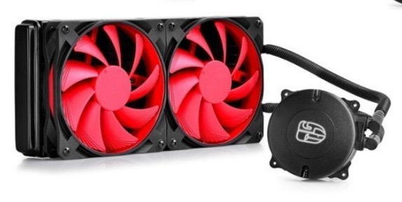 Maelstrom 240 Rad with fans