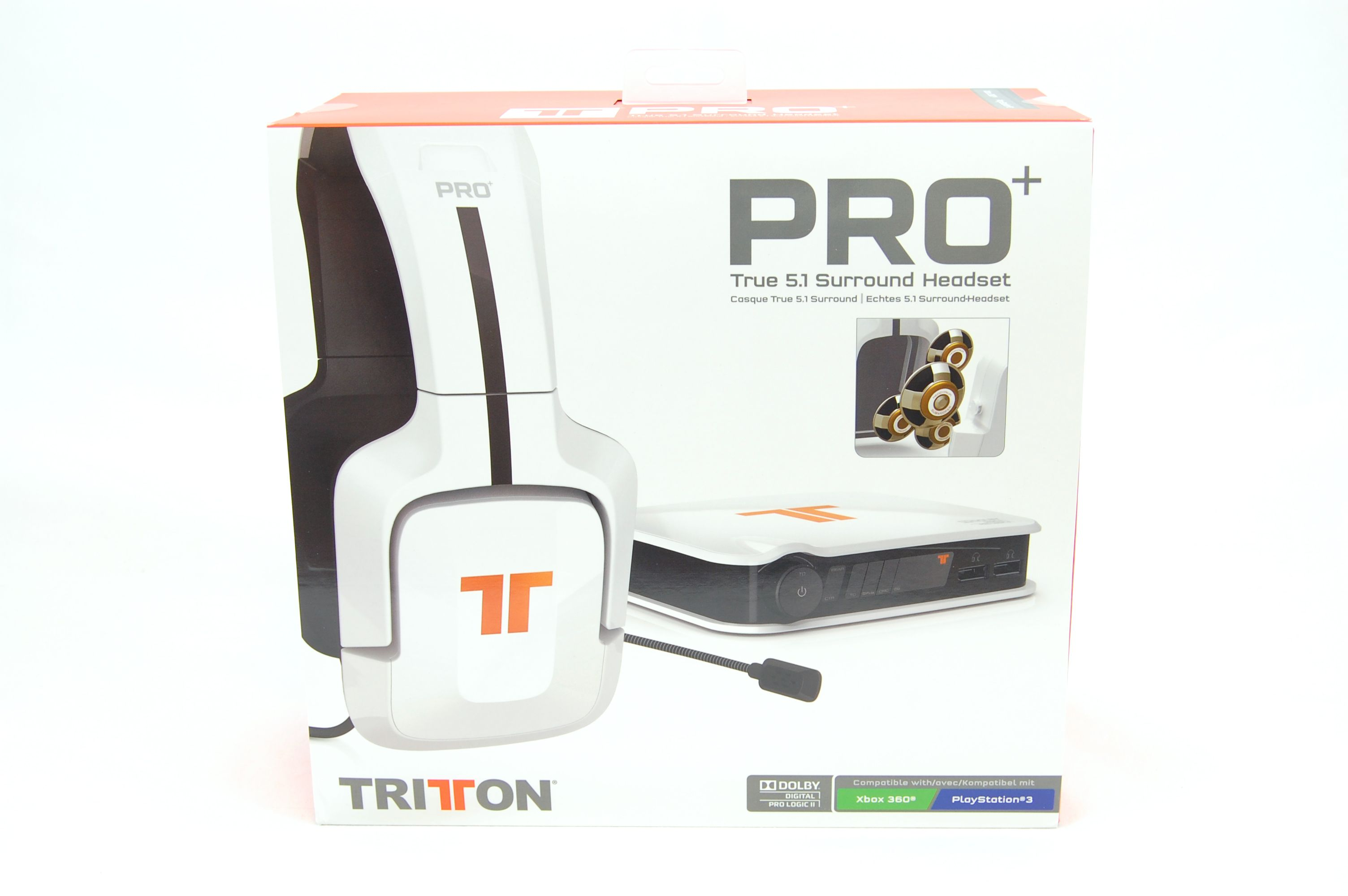 Tritton by MadCatz Pro+ 5.1 Surround Gaming Headset Review - Packaging