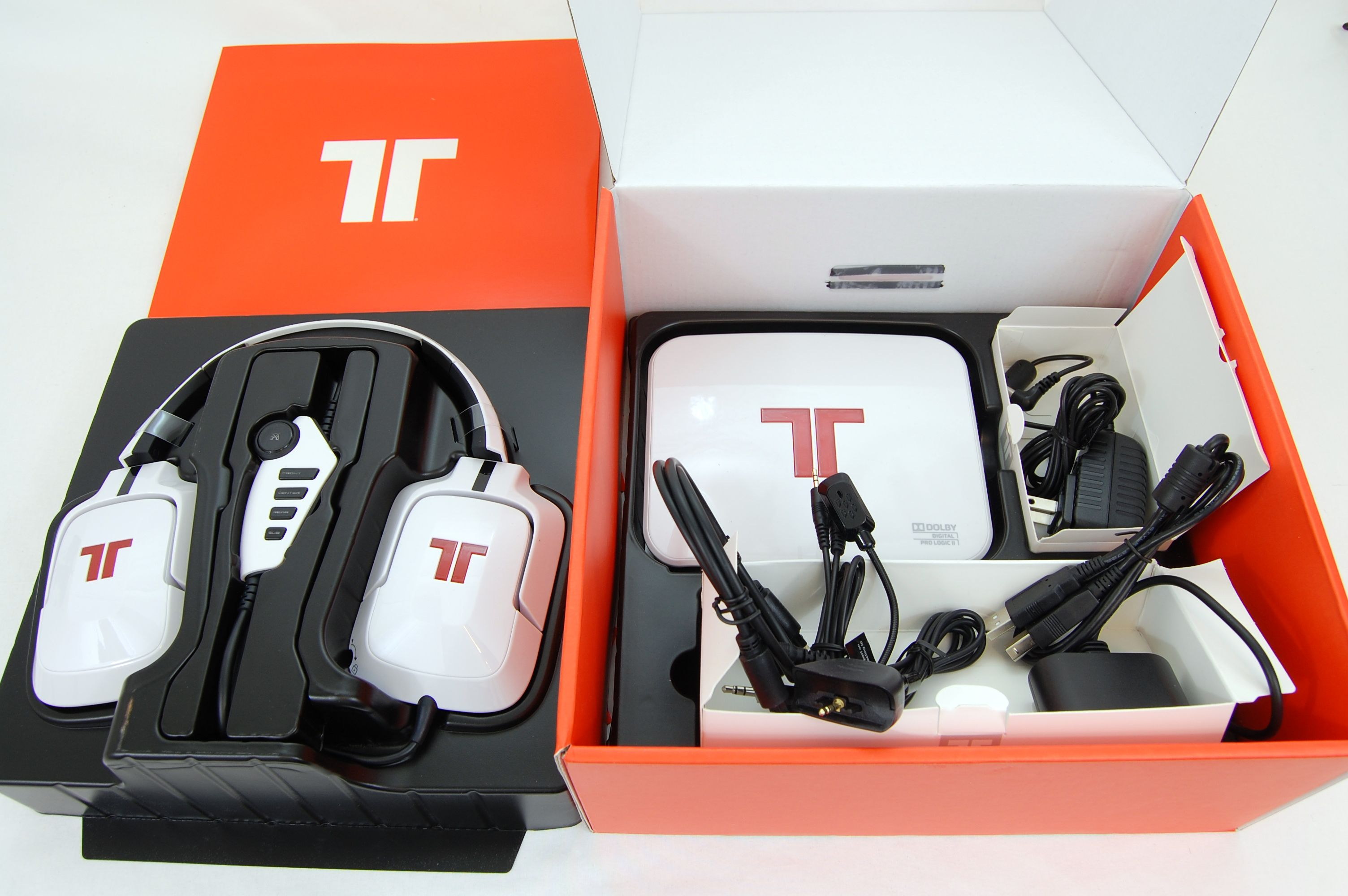 Tritton by MadCatz Pro+ 5.1 Surround Gaming Headset Review - Included Accessories
