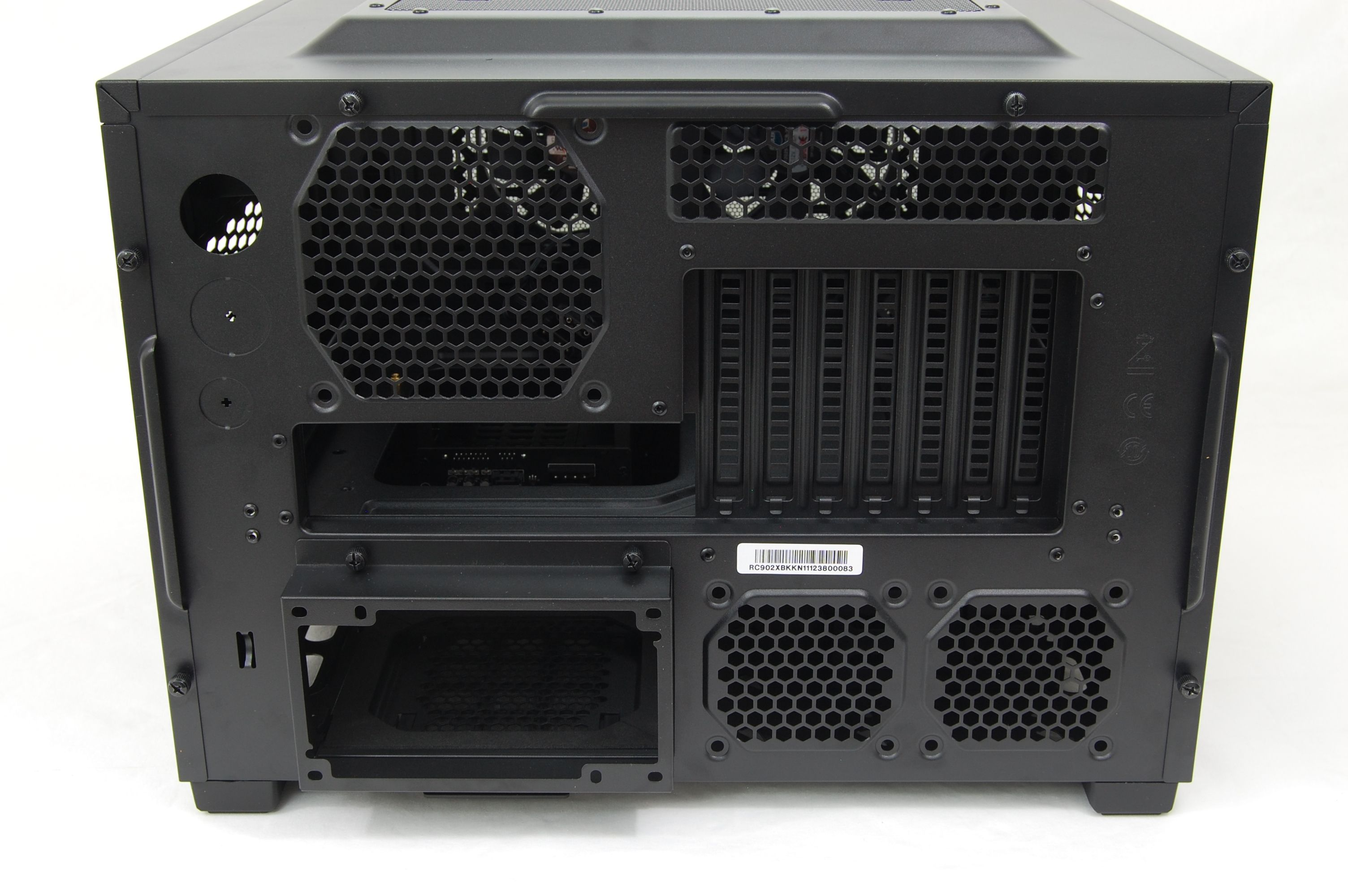Cooler Master HAF XB LAN Case Rear/Back Panel