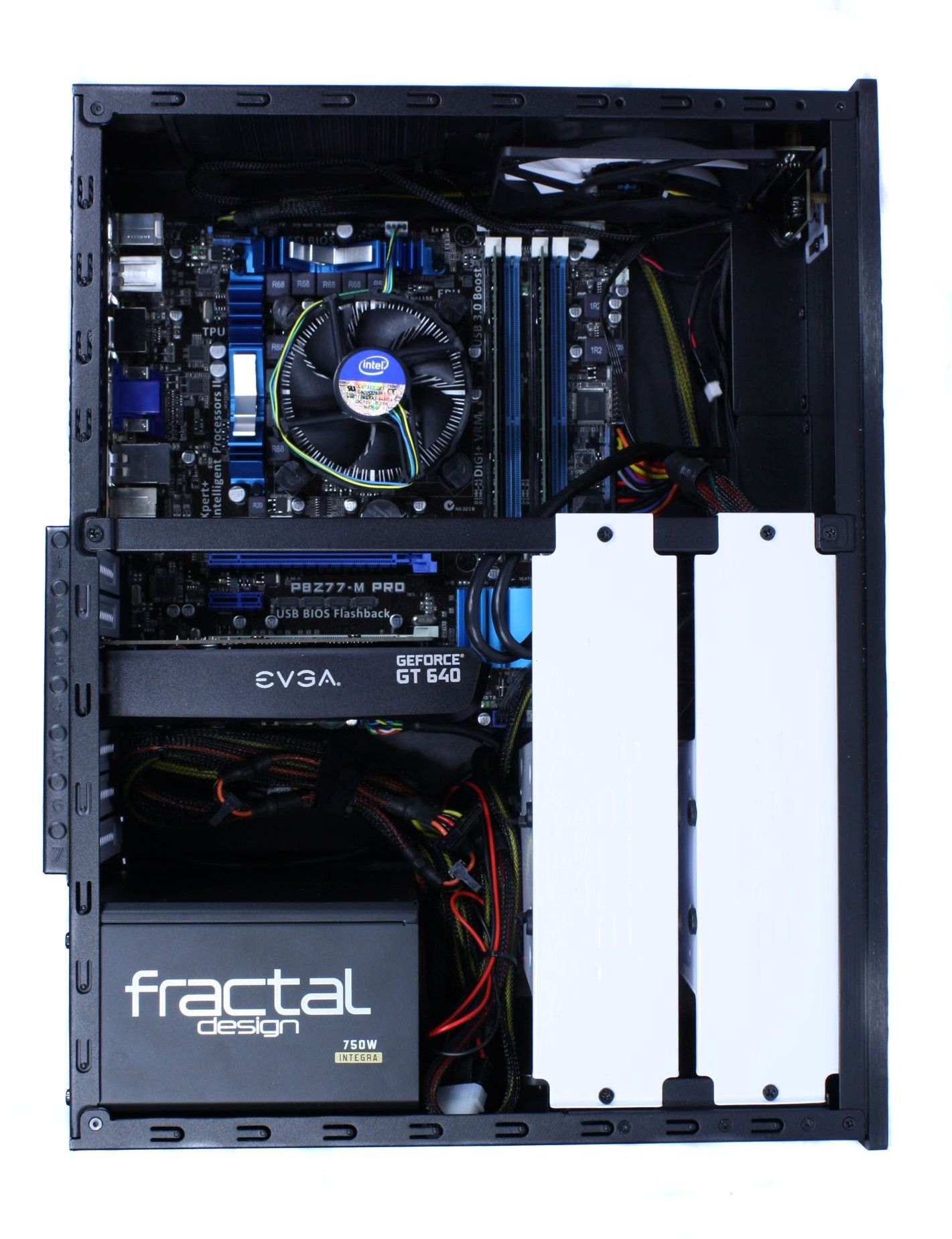 Fractal Design Node 605 Review - Completed Build - Installation