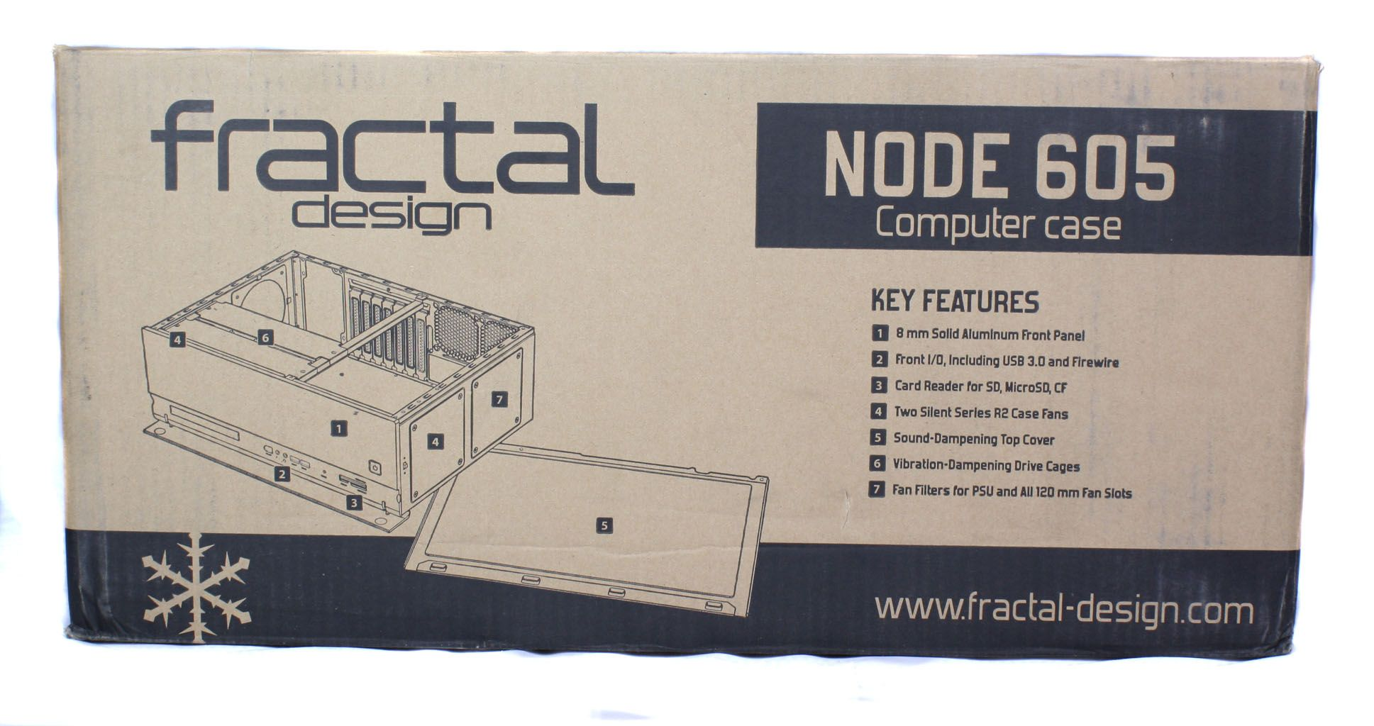 Fractal Design Node 605 Box Side 1