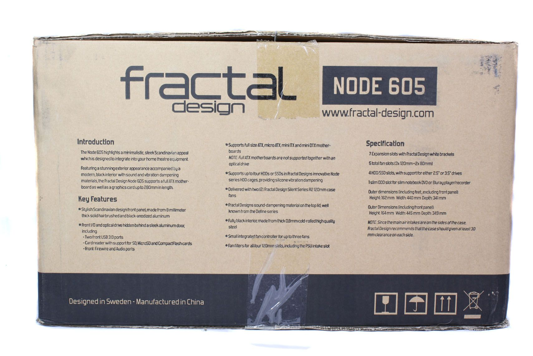 Fractal Design Node 605 Box Side