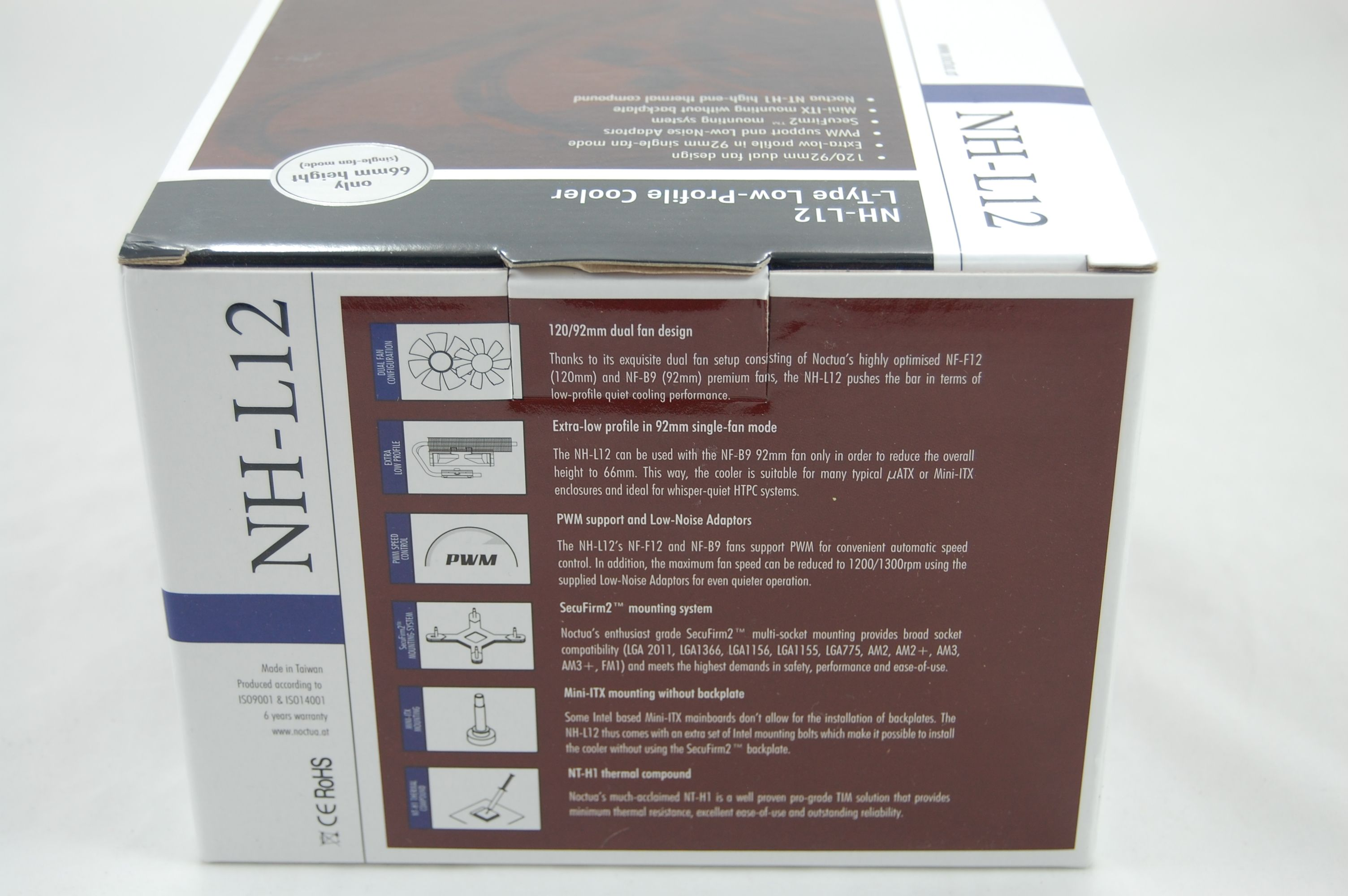 Noctua NH-L12 Box Back