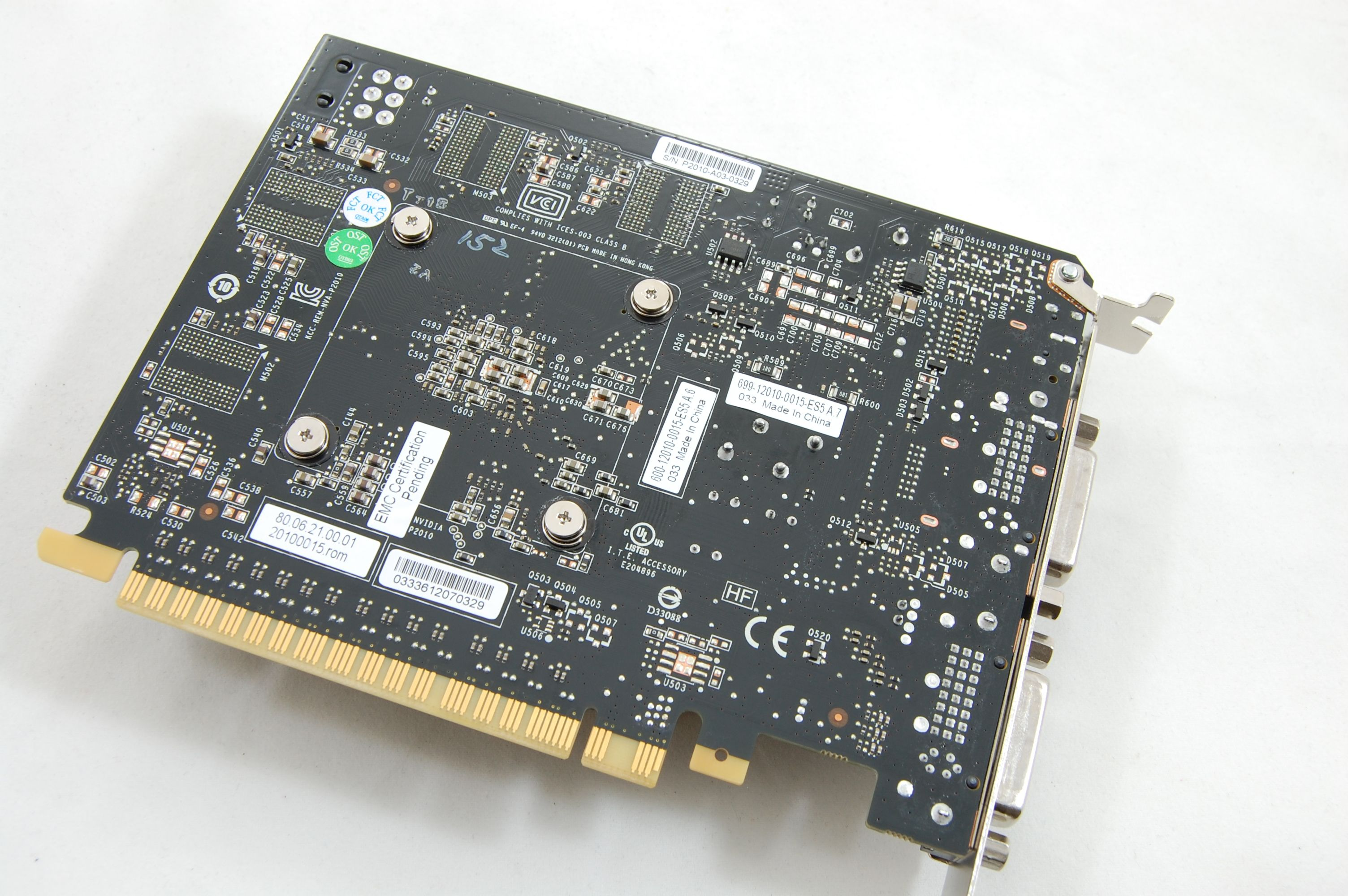 Nvidia Geforce GTX 550 Ti PCB