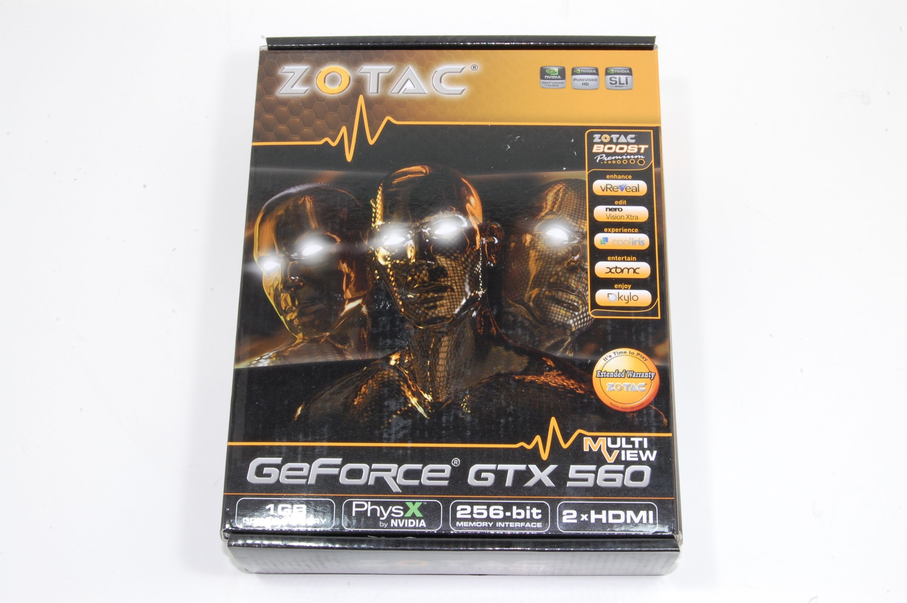 Zotac GTX 560 Multiview Packaging