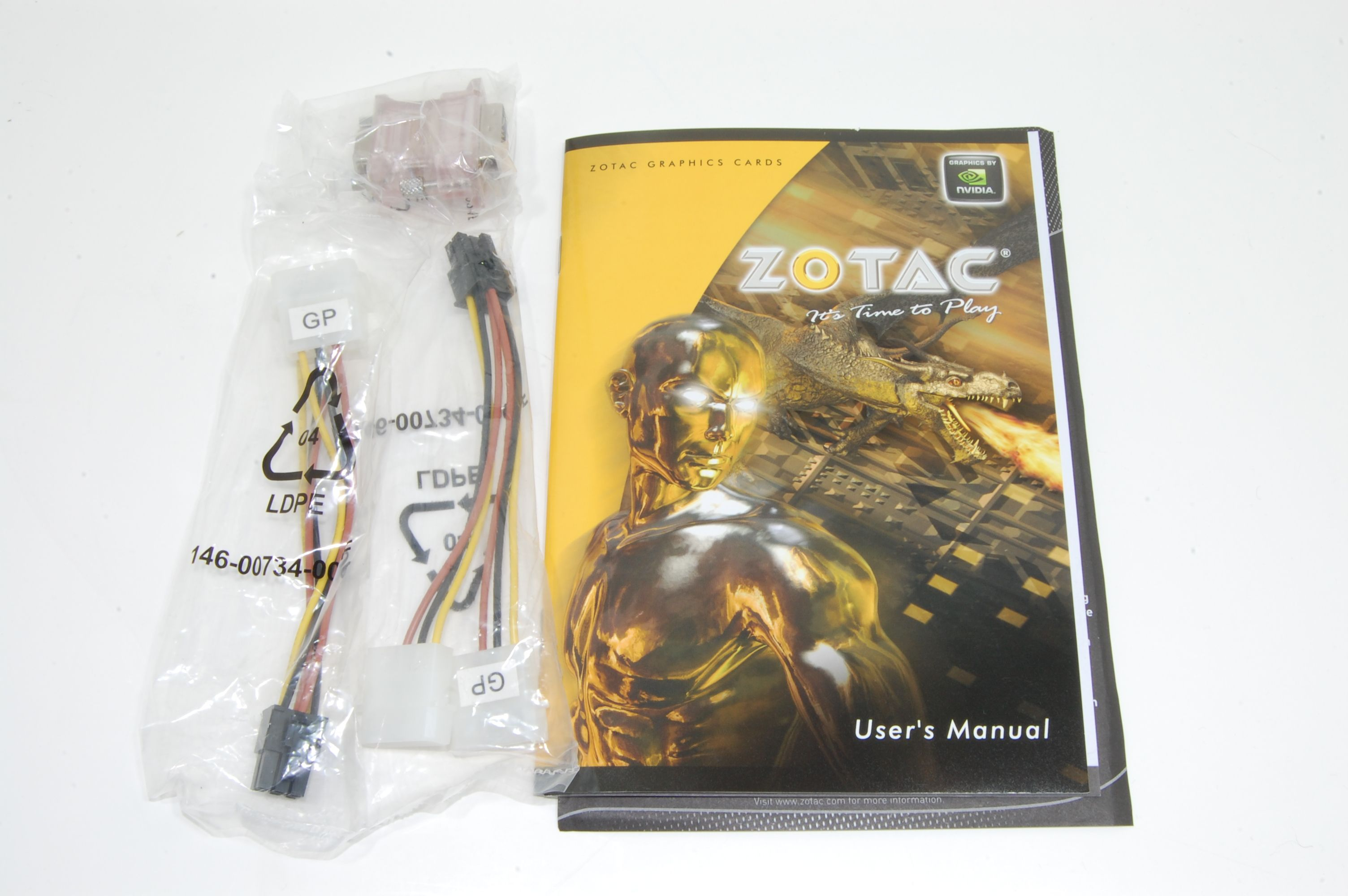 Zotac GTX 560 Multiview Accessories