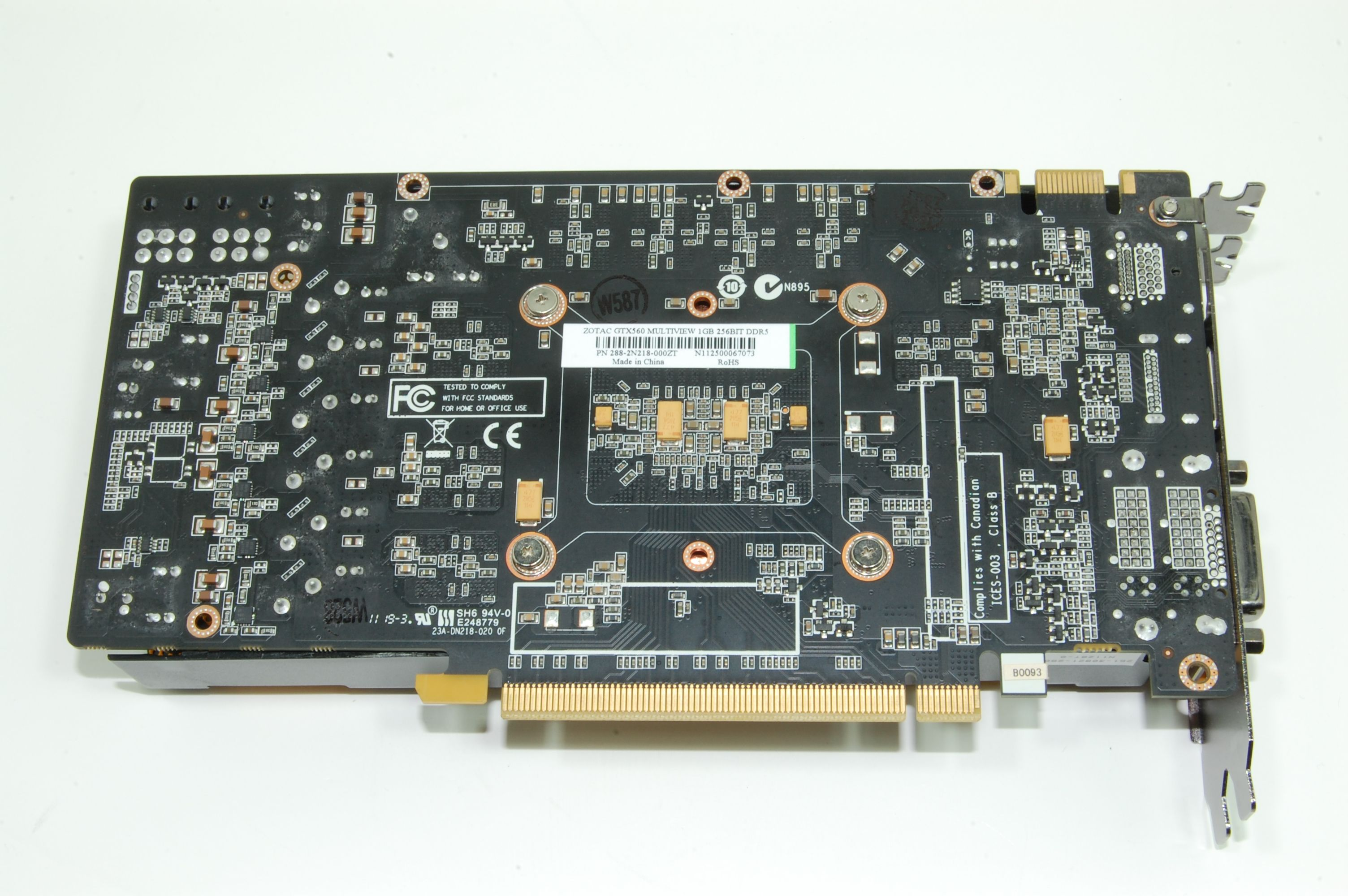 Zotac GTX 560 Multiview PCB
