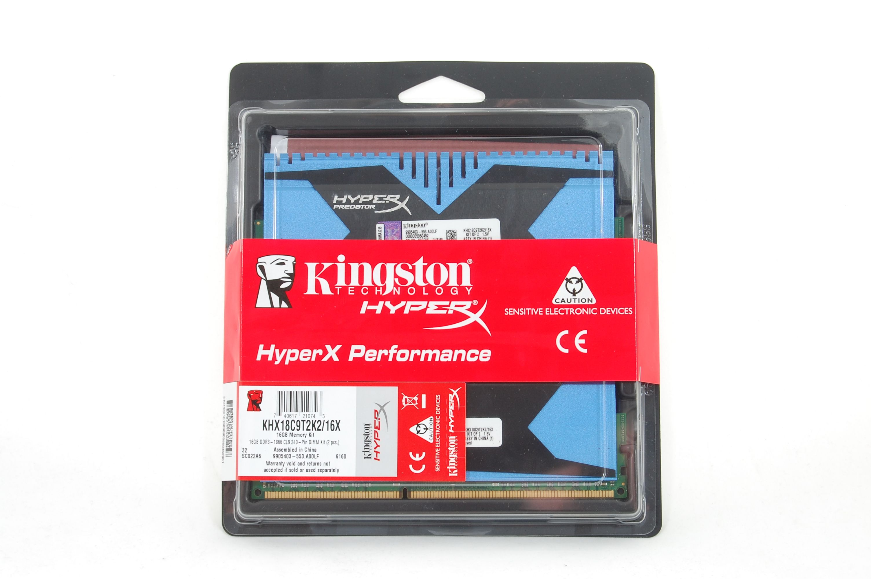 Kingston Predator Packaging