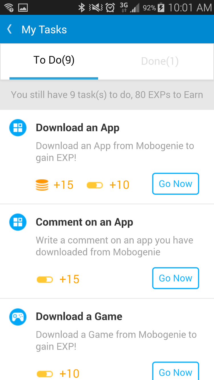 mobogenie-tasks
