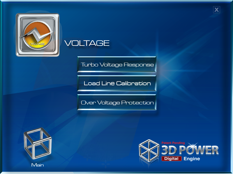 3D-Power-Voltage-Control