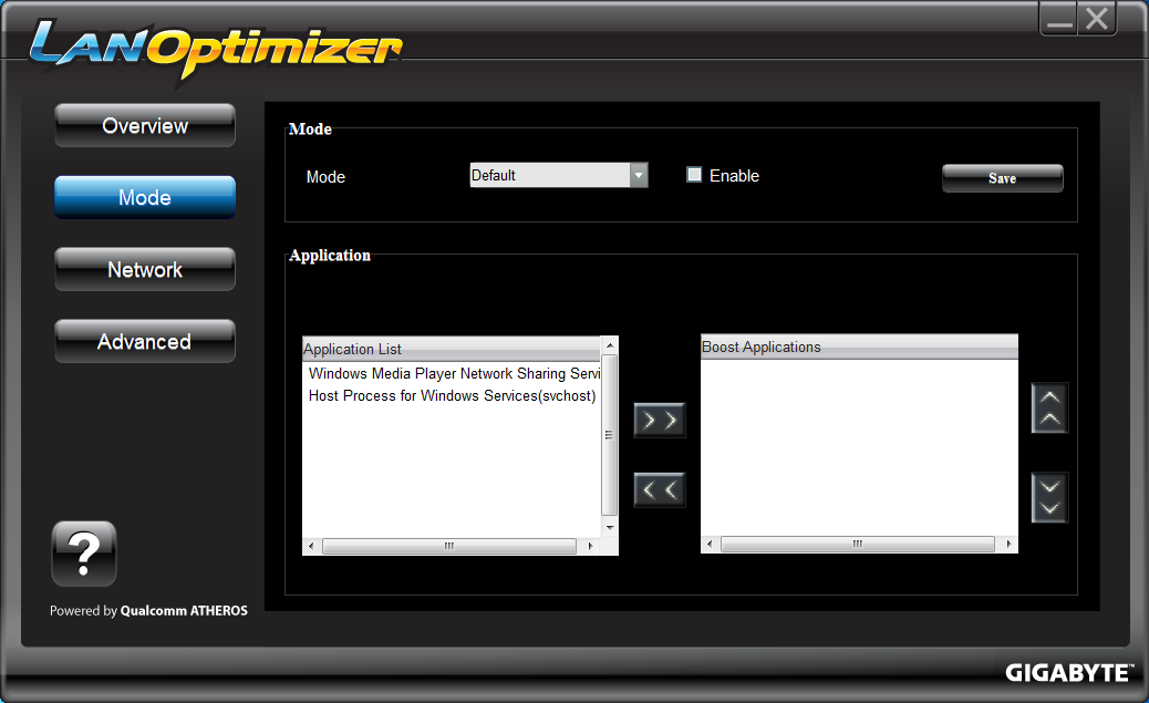 LAN-Optimizer-Setting