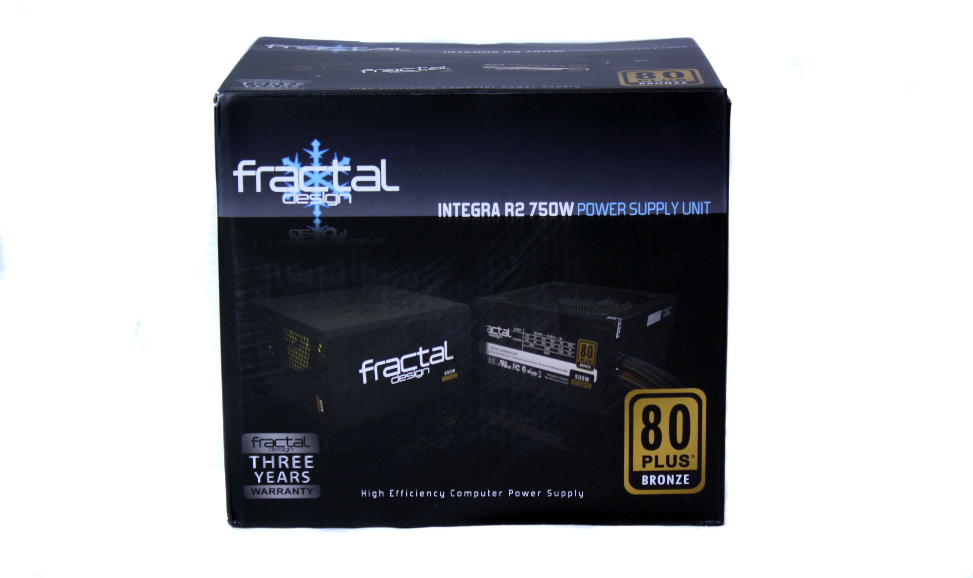 Fractal Design Integra R2 750W Box Front