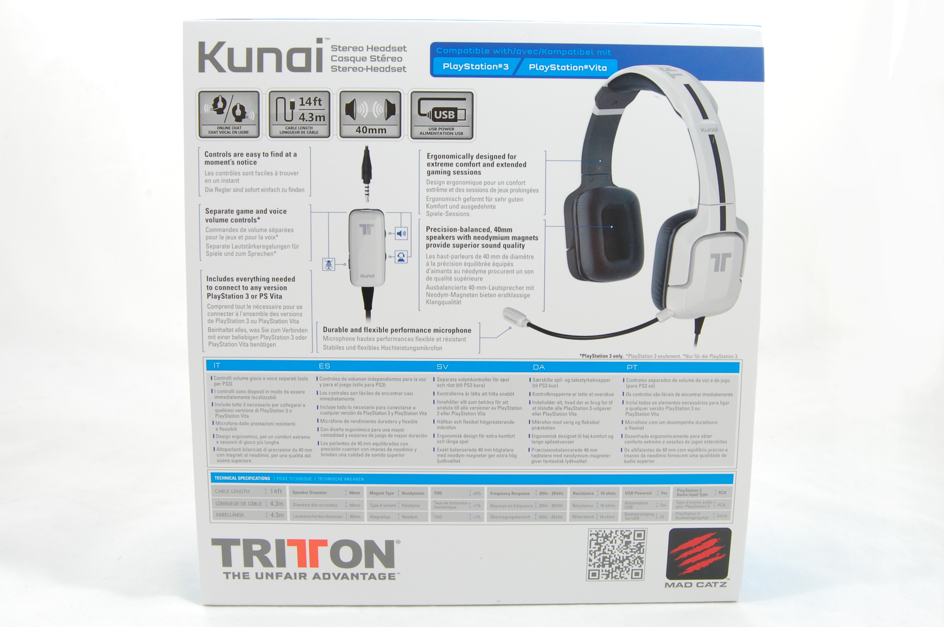 Tritton Kunai Box Back