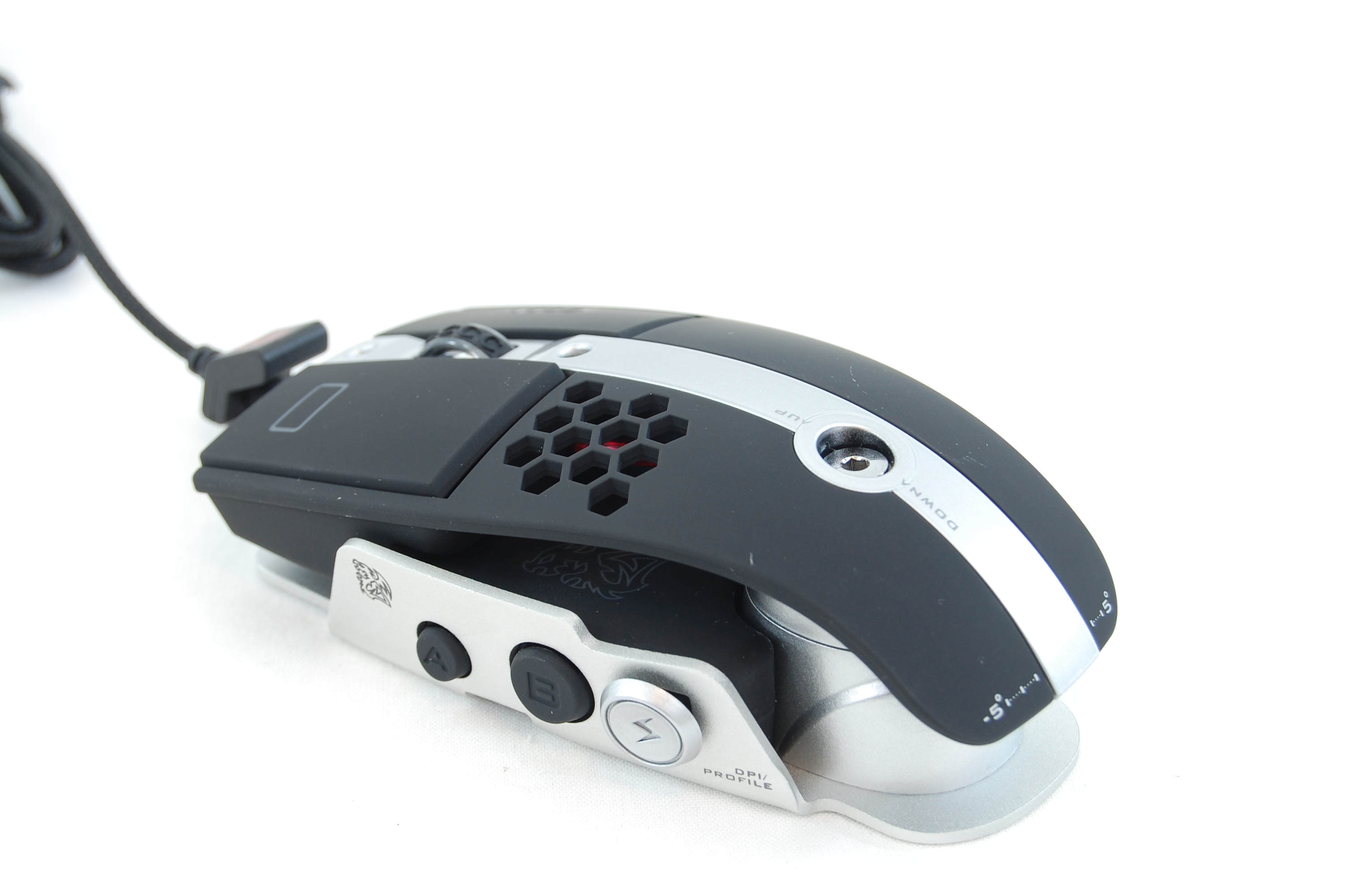 Thermaltake Level 10 M Gaming Mouse Review Taller To Fit Bigger Hands